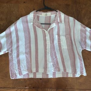 Thread and Supply Size Medium Stripped Button Down